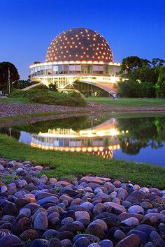 Planetario de Buenos Aires - Argentina/ Buenos Aires City Planetarium. #Planetarium #Baires #Argentina                                                                                                                                                      Mais