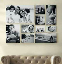 Fotowand selber machen Living room wall design with black and white pictures Picture bar Photo bar BOcean Wall Art, Black andGallery wall obsession. Living Room Wall Designs, Living Room Decor, Picture Wall Living Room, Pictures On Wall Living Room, House Wall Design, Images Murales, Family Pictures On Wall, Family Photo Walls, Wall Decor With Pictures