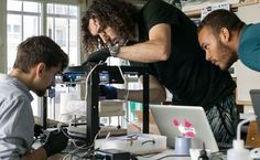 A French design team hacked a 3D printer to create an autonomous tattooing robot that can ink any image onto human skin.