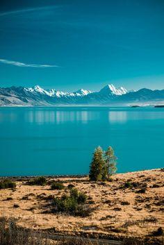 Aoraki - Mt Cook, South Island, New Zealand.