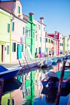 Burano by Eleonore Bridge Eleonore Bridge, Fishing Villages, Small Island, Venice Italy, Oh The Places You'll Go, Travelling, Photos, Wanderlust, Houses