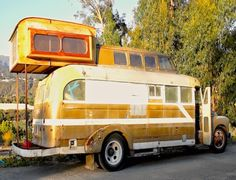 Below are some photos of the bus Ryan Lovelace, a surfboard shaper in  Santa Barbara, calls home. Ryan decided to move into a bus af...