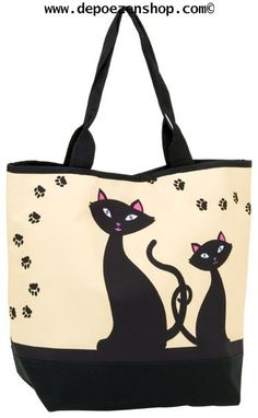 umbrellas and related shoppinbags with cats
