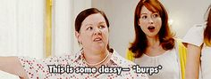 Pin for Later: Melissa McCarthy's Funniest Onscreen Moments of All Time When She Keeps Things Super Classy Cute Quotes, Funny Quotes, Bridesmaids Movie, Scuba Diving Quotes, Are You Not Entertained, Ocean Quotes, Lights Camera Action, Funny Comedy, Speak The Truth