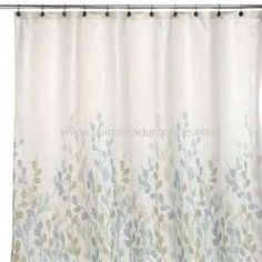 Shower Curtain Buy Discount DKNY Spring Tree Fabric
