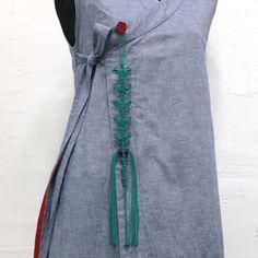 매듭 장노리개 : 네이버 블로그 Turquoise Necklace, Korea, Ornament, Traditional, Jewelry, Design, Fashion, Jewellery Making, Decoration