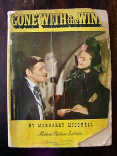 Original Gone With The Wind book by Margaret by StouthouseDesign, $10.50