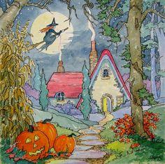 Alida Akers, halloween