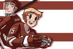 Ngozi Ukazu's webcomic Check, Please is about baking pies, making friends, and the hockey player's constant anxiety about getting checked on the rink.