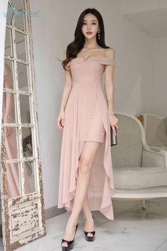 Elegant Outfit, Classy Dress, Classy Outfits, Pretty Outfits, Pretty Dresses, Beautiful Dresses, Korean Fashion Dress, Ulzzang Fashion, Asian Fashion