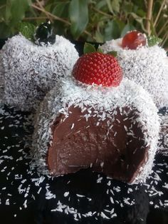 Cookbook Recipes, Cooking Recipes, Chocolate Cake, Strawberry, Food And Drink, Rolls, Gluten Free, Keto, Pudding