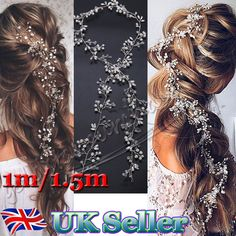 Flower Girl Bridesmaid Bridal Wedding Hair Accessories Headpiece Hair Vine Bands  | eBay