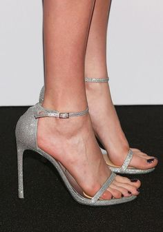 Cara Delevingne's naked dress–and-shoe combination just shut down the red carpet for her latest film. See the chic look here. Nude Shoes, Women's Feet, Cara Delevingne, Sheer Dress, The Chic, Celebrity Feet, Red Carpet Fashion, Perfect Match, Who What Wear