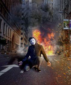 V For Vendetta Comic, V Pour Vendetta, Ghost Rider Wallpaper, Smoke Wallpaper, War Photography, Creative Photography, Alan Walker, Hacker Art, Smoking Images