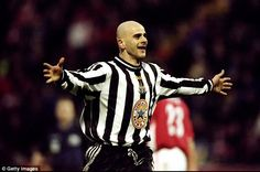 Former Newcastle United striker Temuri Ketsbaia has fond memories of English football