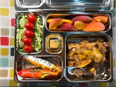 Wednesday's @planetbox lunch is leftover enchilada casserole with lettuce and tomatoes organic yogurt, peaches, and a @torieandhoward organic fruit chew.   #lunch #bento #bentobox #organic #organicfood #healthy #healthyfood #healthykids #healthylife #healthyeating #Healthyfamily #instafood #instagood #eatyourveggies #eattherainbow #cleaneats #cleaneating #healthychoices #picoftheday #foodpic #foodie #eeeeeats #feedfeed #orlandoeats #healthymeals #kidslunch #momlife #planetbox...