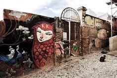 Grafitti in Granada, Spain