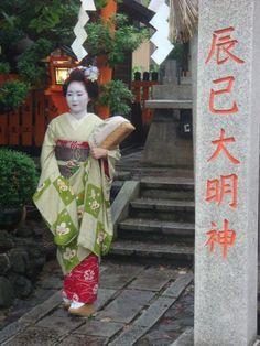 Maiko, a geisha in training