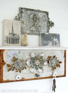Stamptramp: Countdown to Creativity - Jumbo Tattered Florals.