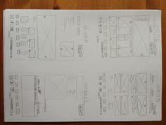 Eigen ontwerp voor 4 website pagina's. ikea
