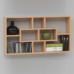 home-wall-shelves-lasse-beech 26 Of The Most Creative Bookshelves Designs