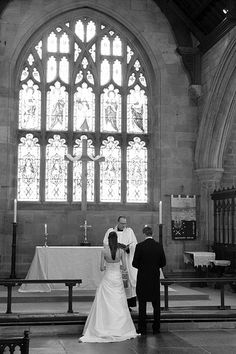 Rebecca & Andrew Wedding Day. Church wedding photography, Alnwick. Northumberland. Northumberland wedding photographers