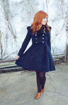 She has a little bit of a coat addiction, like myself! :)