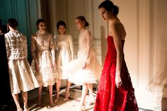 Valentino behind the scenes couture week '13