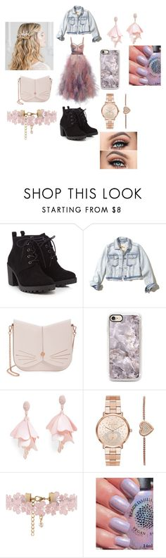 """""""Untitled #209"""" by taco-lambert ❤ liked on Polyvore featuring Red Herring, Hollister Co., Ted Baker, Oscar de la Renta Pink Label, Michael Kors and Monsoon"""