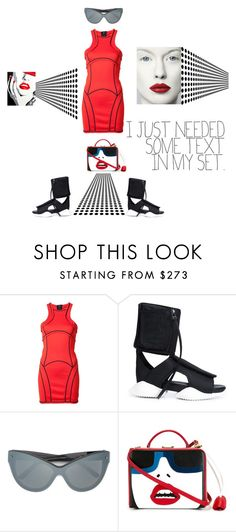 """""""I just need some text in my set..."""" by zabead ❤ liked on Polyvore featuring Dsquared2, Rick Owens, 3.1 Phillip Lim and Mark Cross"""