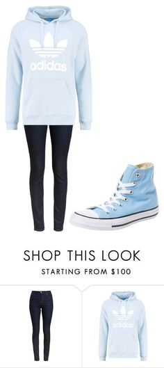 """Untitled #216"" by cruciangyul on Polyvore featuring Barbour, adidas Originals and Converse"