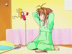 Cardcaptor Sakura, Kero Sakura, Sailor Moon Aesthetic, Aesthetic Anime, Anime Mermaid, Card Captor, Clear Card, Gifs, Best Waifu
