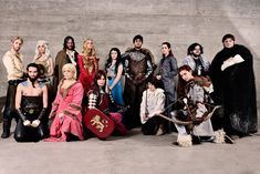 Game of Thrones - cosplay group by ThelemaTherion.deviantart.com on @deviantART