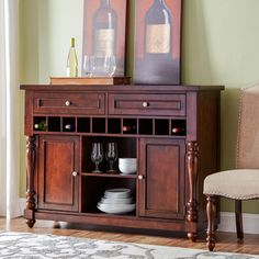 Store your extra dinnerware, flatware, and table linens in a buffet table or sideboard. Shop our great selection of stylish buffet tables and sideboards. Joss And Main Furniture, Dining Room Furniture, Furniture Ideas, Dining Rooms, Pub Set, 7 Piece Dining Set, Sideboard Buffet, Console Table, Carpet Styles