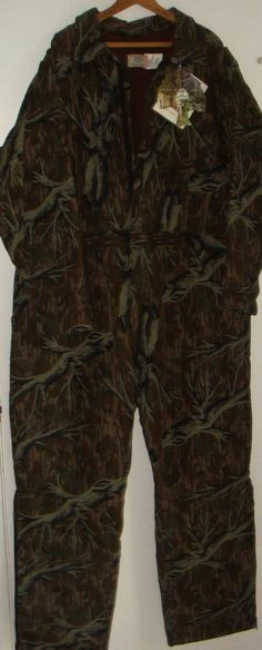 NEW Mossy Oak Treestand Long Sleeve Full Insulated Coveralls Size XXL 2XL NWT #MossyOak