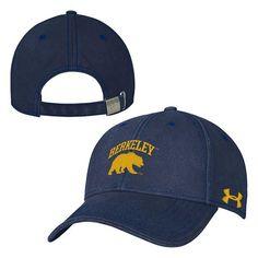 df59972eef5 University Of California Berkeley Under Armour High Profile Cap- Navy-Shop  College Wear Navy