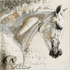 Beautifully Elise Genest Arts and Chevaux