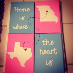 Home is where the heart is. Born in Texas going to school in Missouri