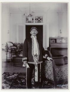 De regent van Cianjur, Java, Indonesië (1919-1930)