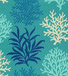 Home Decor Print Fabric-Waverly  Marine Life Pool