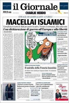 Portada de il Giornale (Italie)