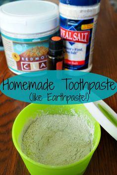 Homemade Toothpaste (DIY Earthpaste) � Phase Nine