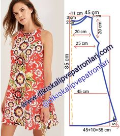 Elbise Kalıbı 38 / 40 beden (M) . Desteklemek i… Dress Pattern size (M). toTo support, please comment & press the begen button. Support to support us, please like and comment❤the Dress Sewing Patterns, Sewing Patterns Free, Free Sewing, Clothing Patterns, Linen Dress Pattern, Simple Dress Pattern, Pattern Sewing, Fashion Sewing, Fashion Fabric