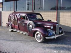 1941 Packard Carved Panel Hearse