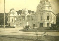 Palacio Guanabara -1908 - Rio de Janeiro