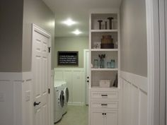 Board & Batten in the Laundry Room | Ana White DIY Projects