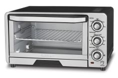 Cuisinart Toaster Oven Broiler Best Small Kitchen Electric Cooking Appliance New