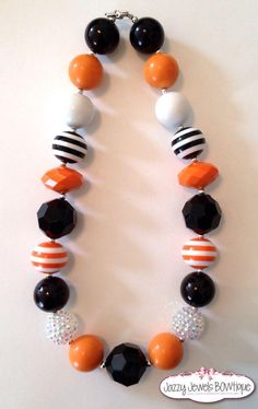 RTS SF Giants necklace Chunky necklace by JazzyJewelsbowtique, $18.00