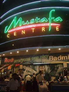"""Mustafa Centre, Singapore's """"super store"""", is open 24/7 and is very popular among tourists and locals alike... by kangucup, via Flickr"""