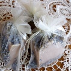 SHOWER / WEDDING  FAVORS  NEW!  Homemade Soap